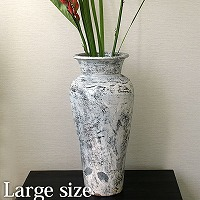 Flower Vase (Terracotta) Antique wash (Large size)