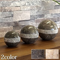 Marble Sphere (dots design) 3set